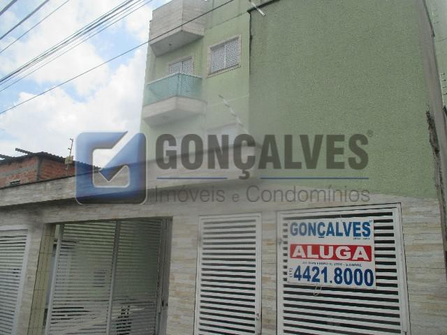 Locação apartamento santo andre vila guarani ref: 35307