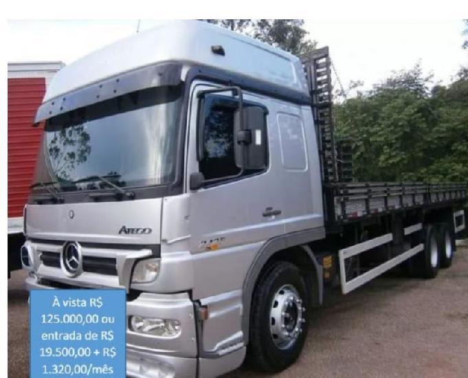 MB Atego 2425 truck 2012 carroceria