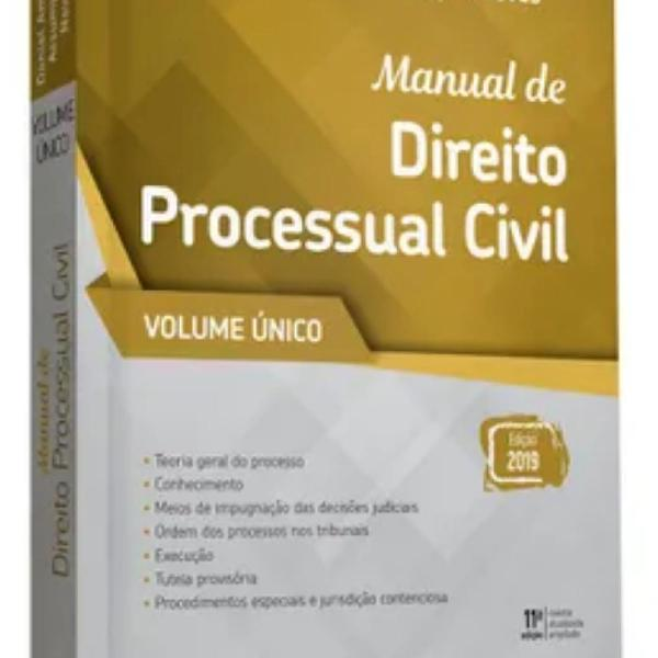 Manual direito processual civil