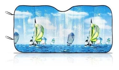 Protetor solar parabrisa para painel carro com proteção uv