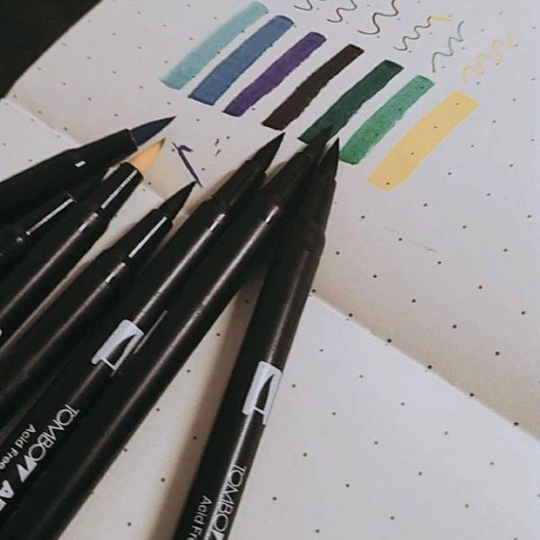 Brush pen tombow