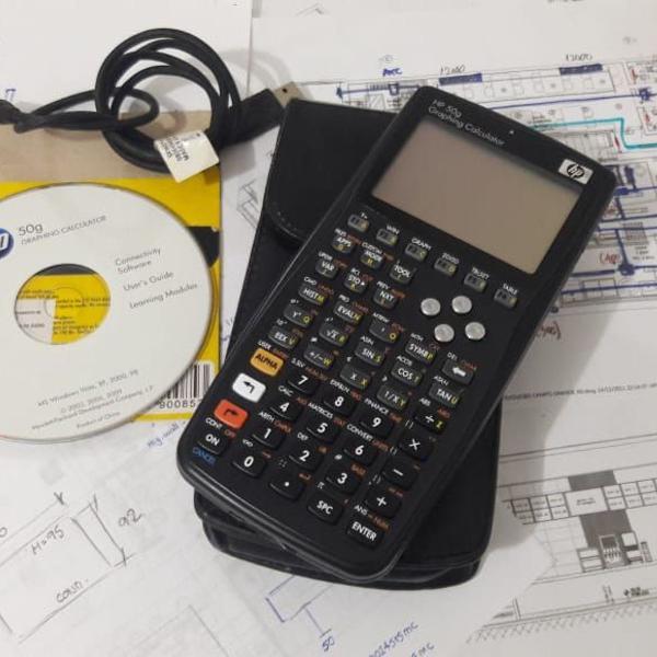 Calculadora cientifica e gráfica hp 50g