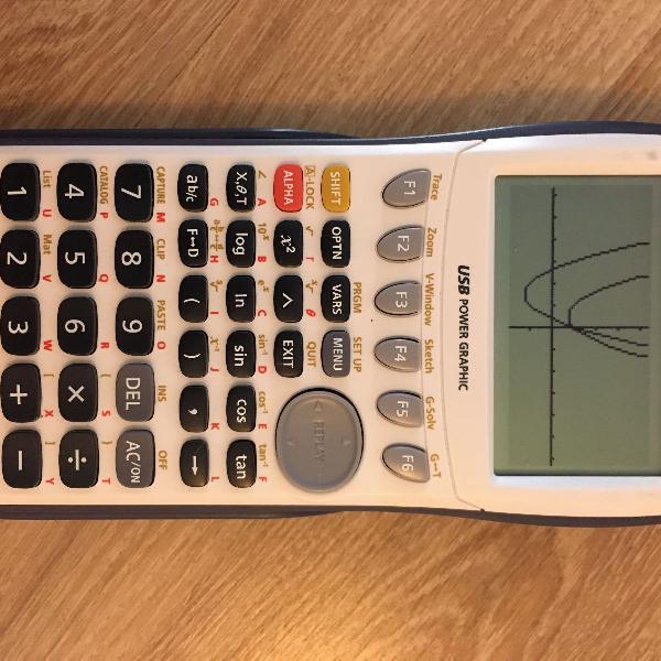 Calculadora gráfica científica casio fx9750 gii