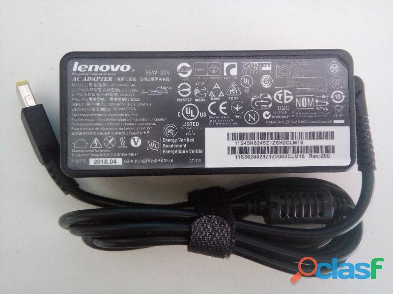 Fonte carregador notebook lenovo 20v 3.25 pino usb em salvador