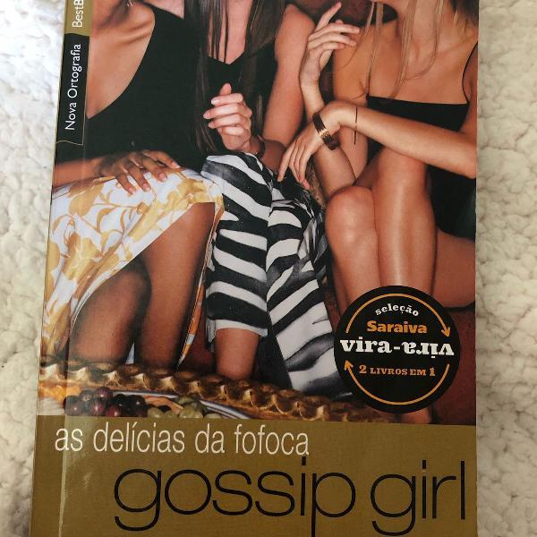 Livro gossip girl 1 e 2