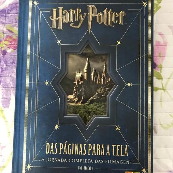 Livro harry potter - das páginas para a tela
