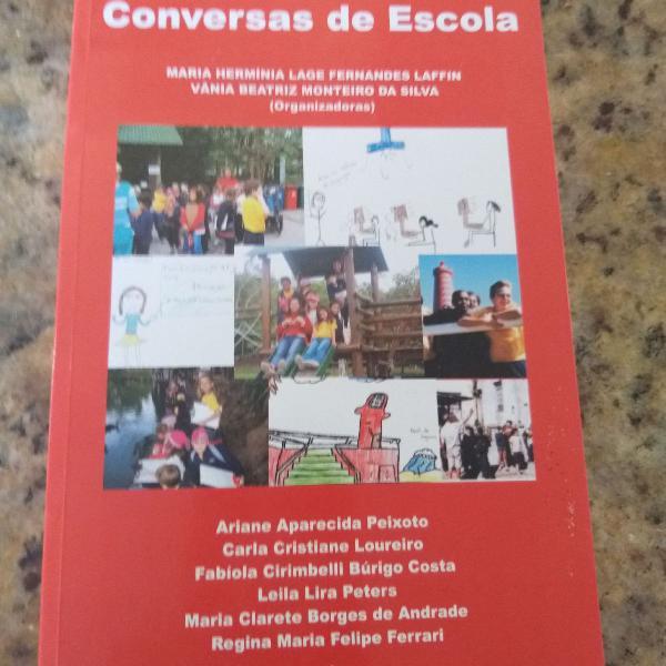 Livro sobre educação e escola