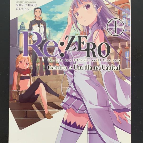 re: zero - capítulo 1: um dia na capital - vol. 1