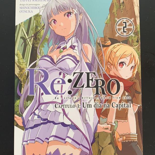 Re: zero - capítulo 1: um dia na capital- vol. 2