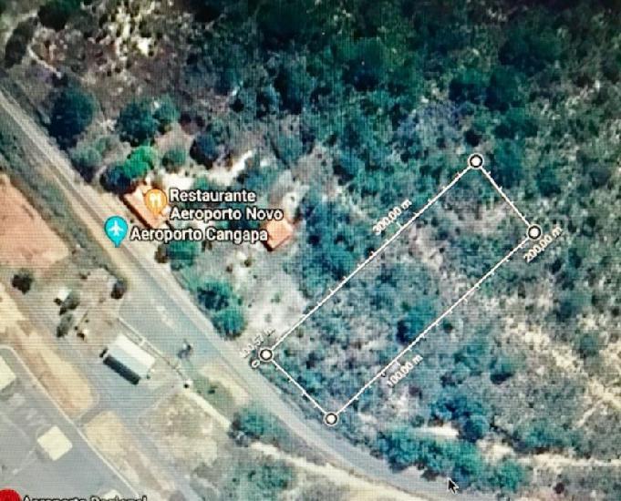 7.500 m2 em frente ao aeroporto de floriano (cangapara) -pi