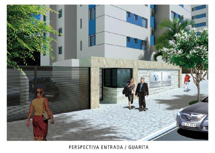 Apartamento 02 qtos, suíte, 02 vagas, elevador - bairro