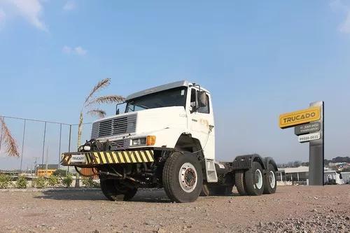 Caminhão 2635 6x4 1998 no chassi traçado = mb vw vm iveco