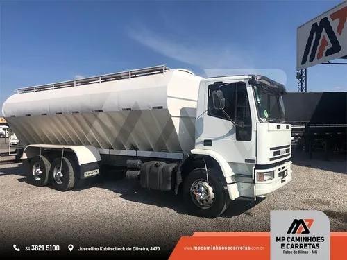 Caminhão iveco r30e24 silo graneleiro p/ ração
