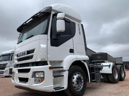 Caminhão iveco stralis 410 - 2010 - 6x2 trucado