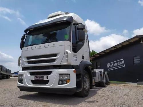 Caminhão iveco strallis 480 - 2013 - 6x4 traçado