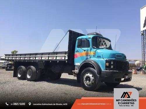 Caminhão mercedes-benz mb 2013 carroceria de madeira