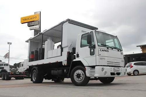 Cargo 1317 comboio lubrificação= graxa diesel compressor