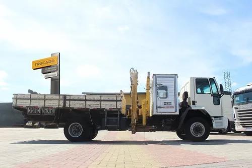 Cargo 1317 toco 2011 cabine carroceria munck = facchini hyva