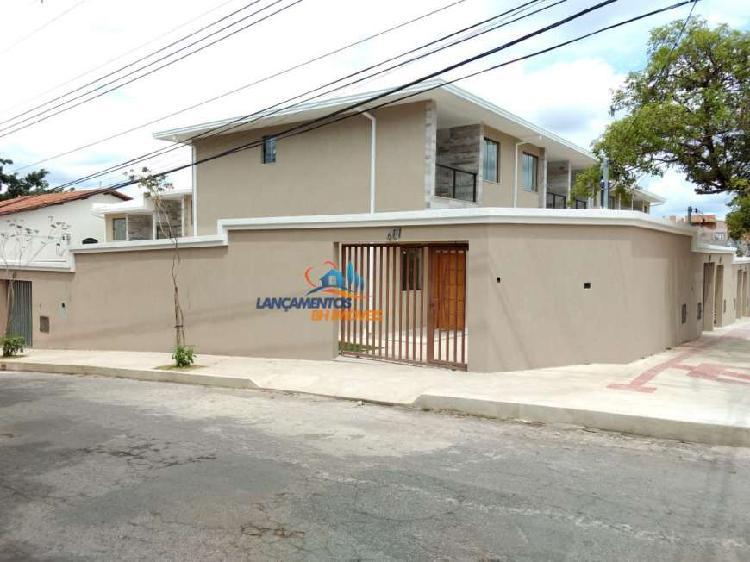 Casa geminada para venda em planalto belo horizonte-mg -