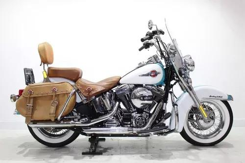 Harley davidson heritage softail classic 2017 azul