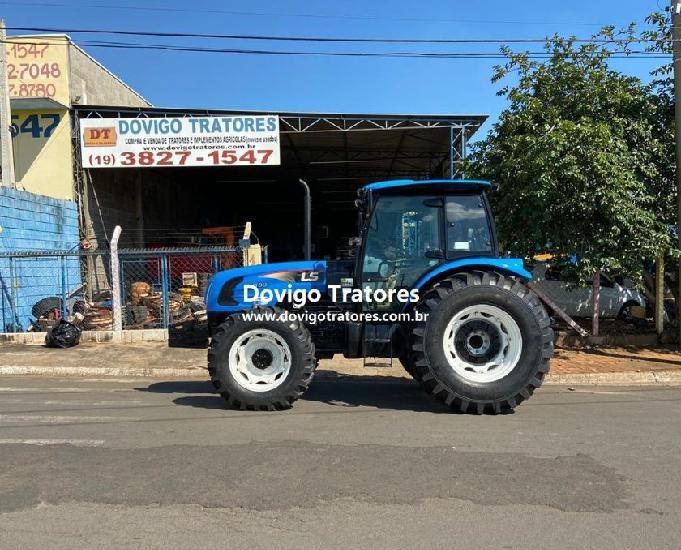 Ls tractor modelo:plus 80cabinado,4x4 ano 2015