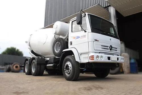 Mb 2423 2009 6x4 betoneira 8m³ = scania man vm