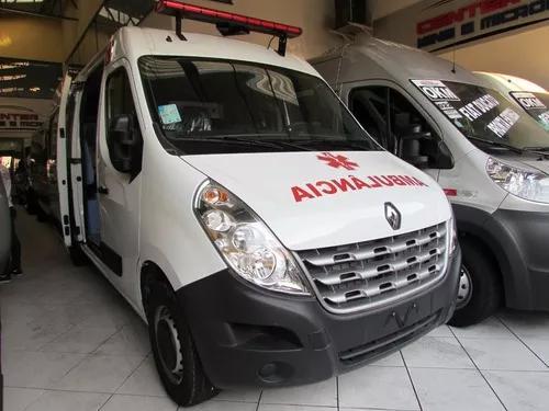Renault master ambulância uti completa