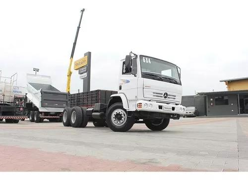 Truck mb 2423 2007 6x4 chassi = mb 2418 2425 2428