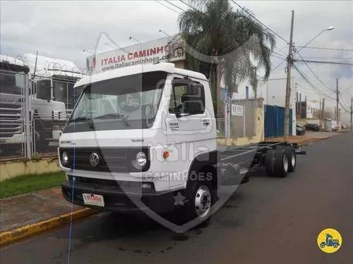 Volkswagen vw 10160 2014 6x2 chassi itália caminhões