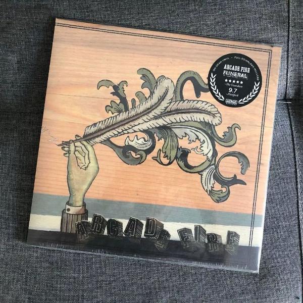 Arcade fire funeral lp vinyl 180g novo lacrado