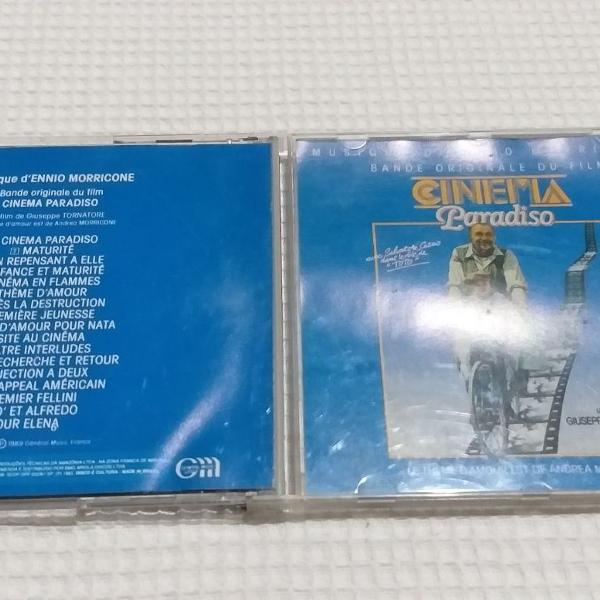 Cinema paradiso - cd ennio morricone - trilha do filme