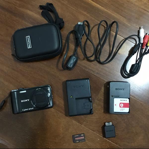 Câmera digital sony cyber shot dsc-wx10