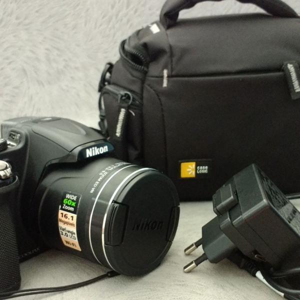 Câmera nikon coolpix p600