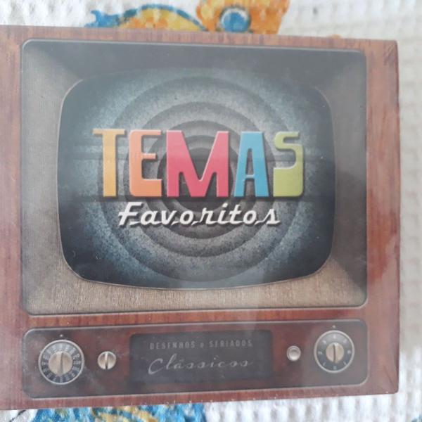 Coletânea de cds com temas favoritos de seriados, filmes .