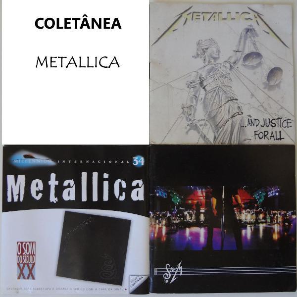 Coletânea metallica 03 cd's originais