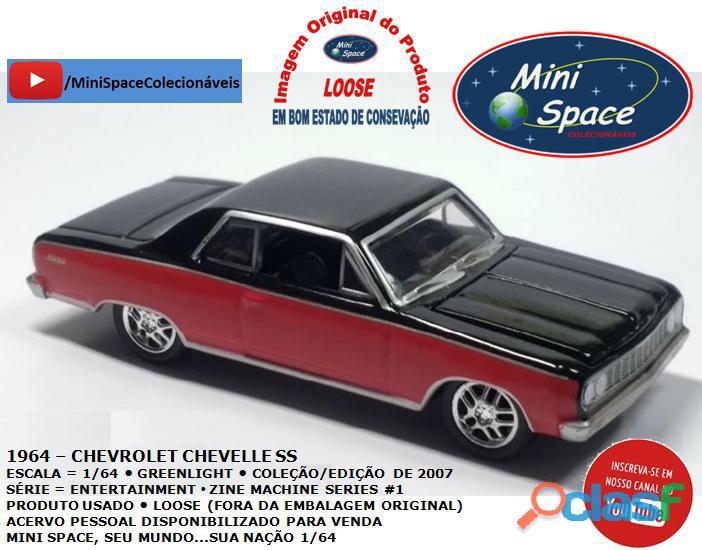 Greenlight 1964 chevrolet chevelle ss 1/64