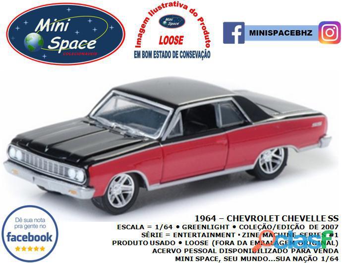 Greenlight 1964 Chevrolet Chevelle SS 1/64 1