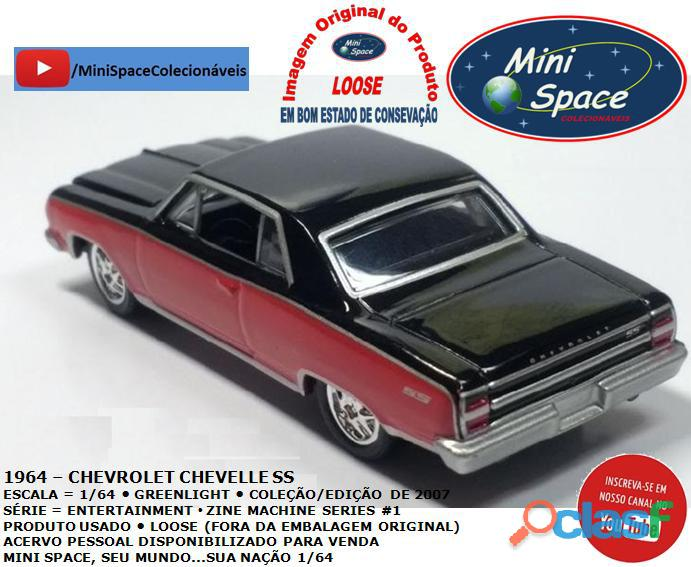 Greenlight 1964 Chevrolet Chevelle SS 1/64 3