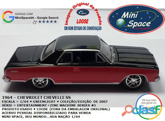 Greenlight 1964 Chevrolet Chevelle SS 1/64 5