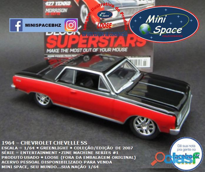 Greenlight 1964 Chevrolet Chevelle SS 1/64 7