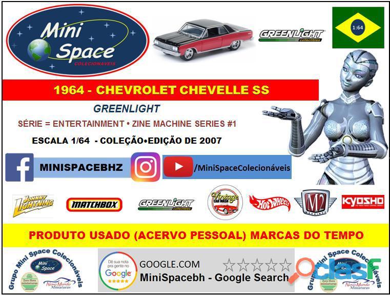 Greenlight 1964 Chevrolet Chevelle SS 1/64 8