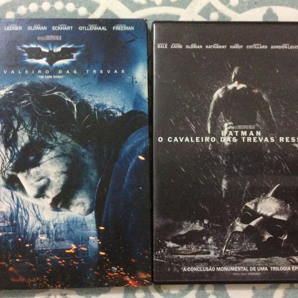 Kit do 2 e 3 filme do batman