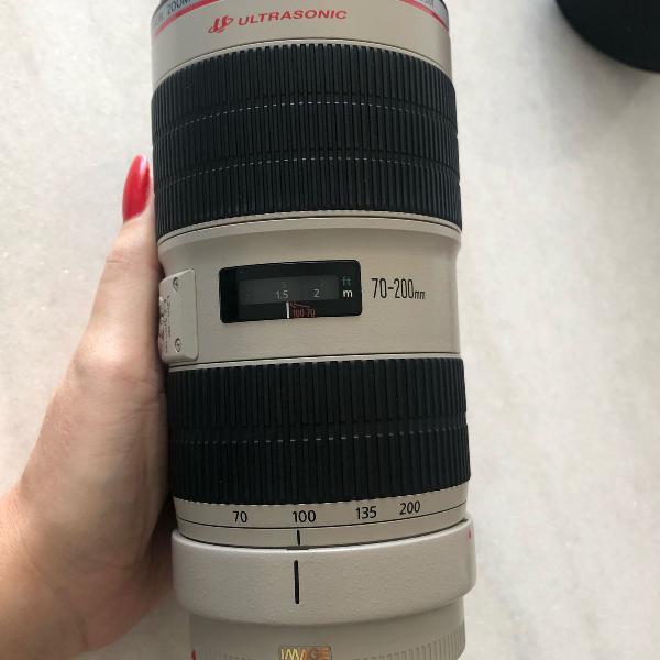 Lente ef 70-200mm f/2.8l is ii usm (canon)