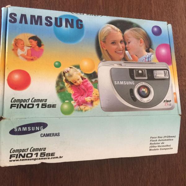Máquina fotográfica analógica samsung fino 15se