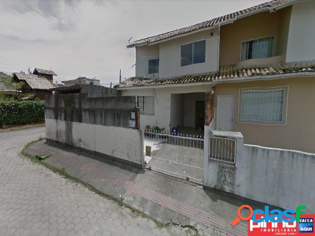 Casa geminada 02 dormitórios, venda direta caixa, bairro forquilhas, são josé, sc, assessoria gratuita na pinho