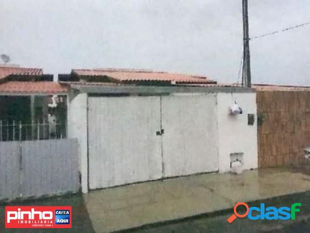 Casa geminada 02 dormitórios, venda direta caixa, bairro potecas, são josé, sc
