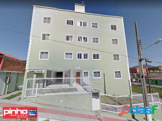 Apartamento 02 dormitórios, residencial elisa, venda direta caixa, bairro serraria, são josé, sc, assessoria gratuita na pinho