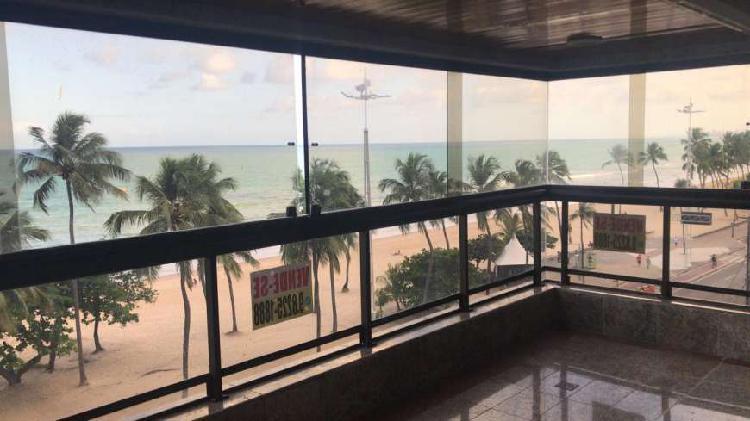 Apto 4 suites na beira mar de boa viagem - recife - pe