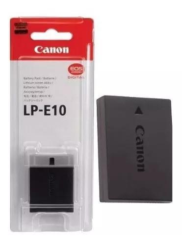 Bateria canon lp-e10 original eos 1100d kiss x50, rebel t3