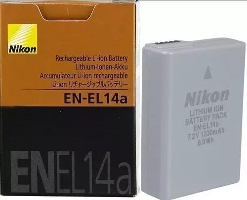 Bateria nikon en-el 14a